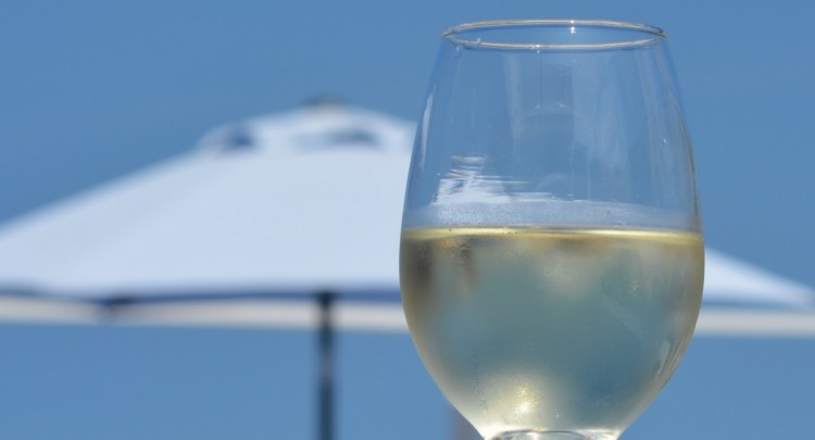 verre, apéritif, été, plage, vacances
